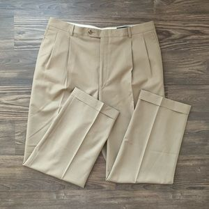 Burberry Pleated Dress Pants